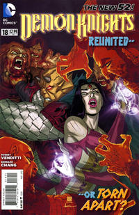 Cover Thumbnail for Demon Knights (DC, 2011 series) #18