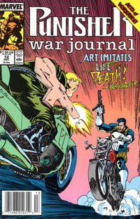 Cover Thumbnail for The Punisher War Journal (Marvel, 1988 series) #12 [Newsstand]