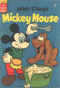Cover Thumbnail for Walt Disney's Mickey Mouse (W. G. Publications; Wogan Publications, 1956 series) #8