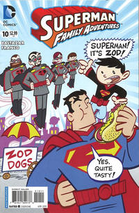 Cover Thumbnail for Superman Family Adventures (DC, 2012 series) #10 [Direct Sales]