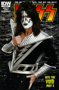 Cover Thumbnail for Kiss (IDW, 2012 series) #8 [Cover RI - Photo (Tommy Thayer)]
