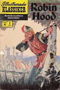 Cover Thumbnail for Illustrerade klassiker (Illustrerade klassiker, 1956 series) #41 - Robin Hood