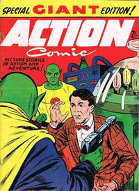 Cover Thumbnail for Action Comic (Trans-Tasman Magazines, 1965 ? series)