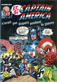 Cover Thumbnail for Et si... (Arédit-Artima, 1983 series) #[2] - Et si Captain America n'avait pas disparu pendant la guerre