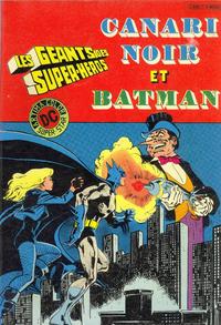 Cover Thumbnail for Les Géants des Super-Héros (Arédit-Artima, 1981 series) #1