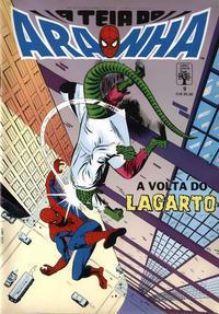 Cover Thumbnail for A Teia do Aranha (Editora Abril, 1989 series) #9