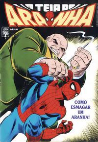 Cover Thumbnail for A Teia do Aranha (Editora Abril, 1989 series) #7