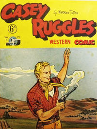Cover Thumbnail for Casey Ruggles Western Comic (Donald F. Peters, 1951 series) #2