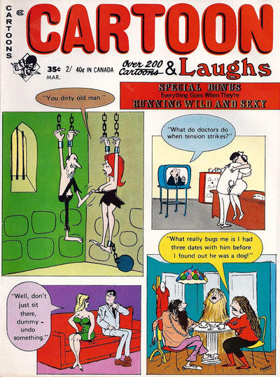 Cover for Cartoon Laughs (Marvel, 1962 series) #v10#2 [Canadian]