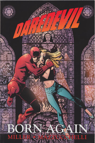 Cover for Daredevil: Born Again (Marvel, 1987 series)  [First Printing]