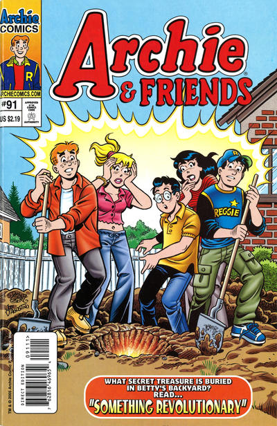 Cover for Archie & Friends (Archie, 1992 series) #91