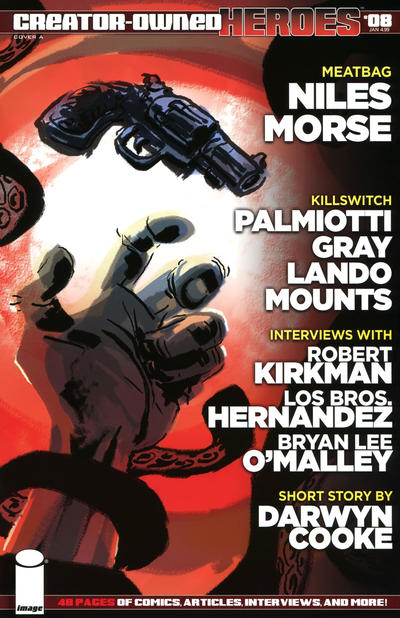 Cover for Creator-Owned Heroes (Image, 2012 series) #8 [Cover B by Amanda Conner]
