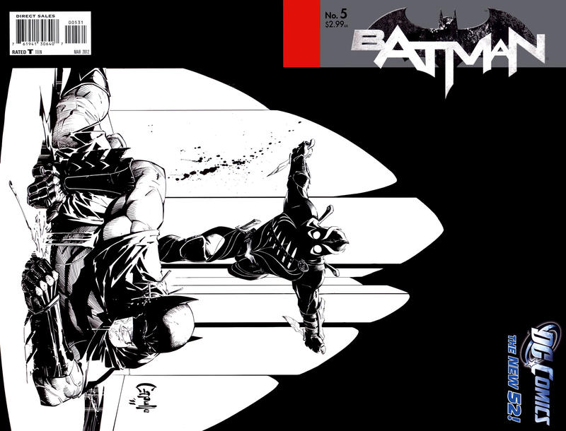Cover for Batman (DC, 2011 series) #5 [Fourth Printing]