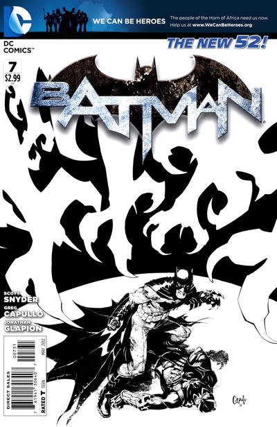 Cover for Batman (DC, 2011 series) #7