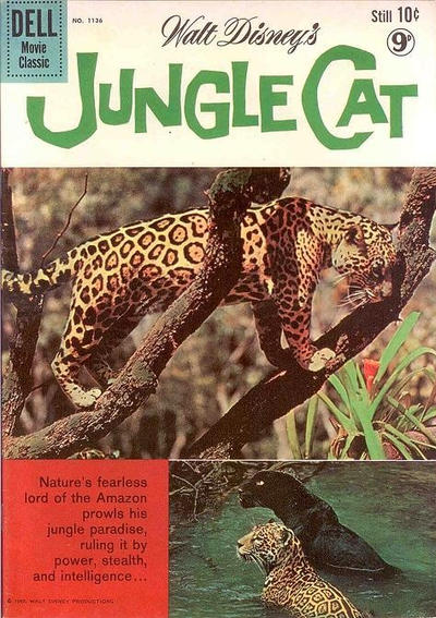 Cover for Four Color (Dell, 1942 series) #1136 - Walt Disney's Jungle Cat [British]