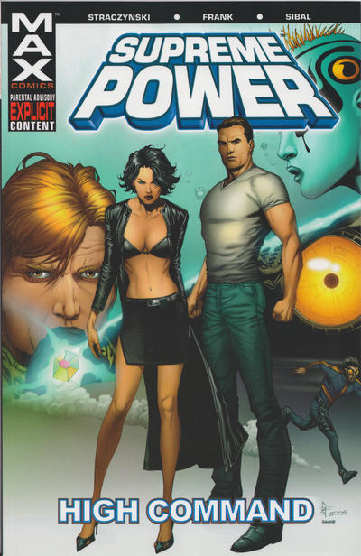 Cover for Supreme Power (Marvel, 2004 series) #3 - High Command