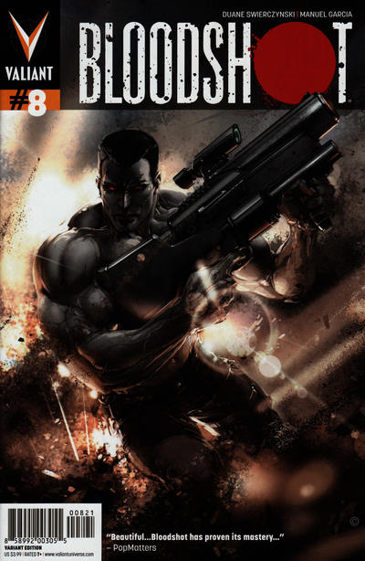 Cover for Bloodshot (Valiant Entertainment, 2012 series) #8 [Cover A - Arturo Lozzi]