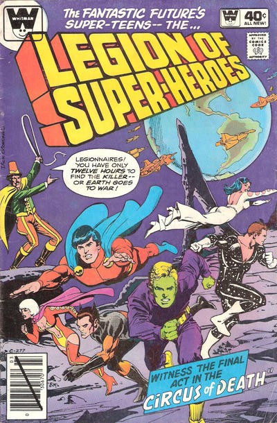 Cover for The Legion of Super-Heroes (DC, 1980 series) #261 [Whitman]