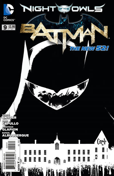 Cover for Batman (DC, 2011 series) #9 [Combo-Pack]