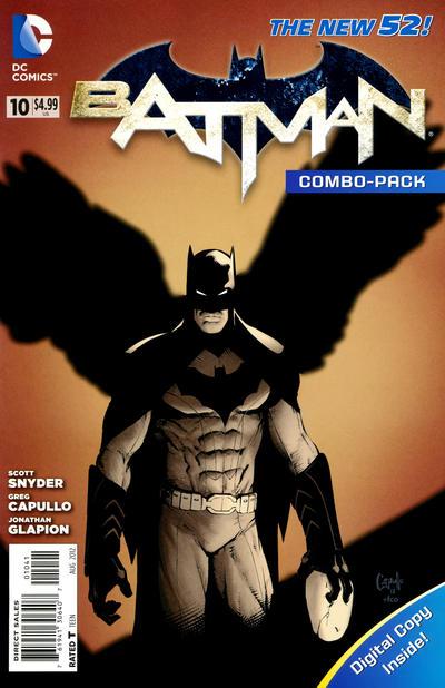 Cover for Batman (DC, 2011 series) #10 [Newsstand]