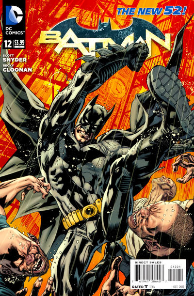 Cover for Batman (DC, 2011 series) #12 [Greg Capullo Cover]