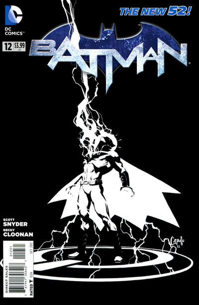 Cover for Batman (DC, 2011 series) #12 [Bryan Hitch Cover]