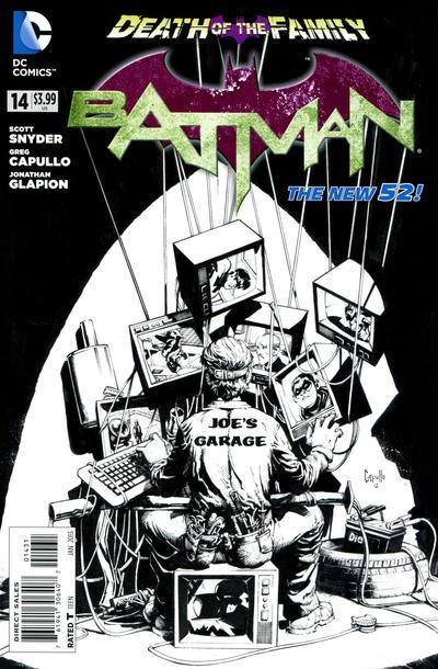 Cover for Batman (DC, 2011 series) #14 [Trevor McCarthy Cover]