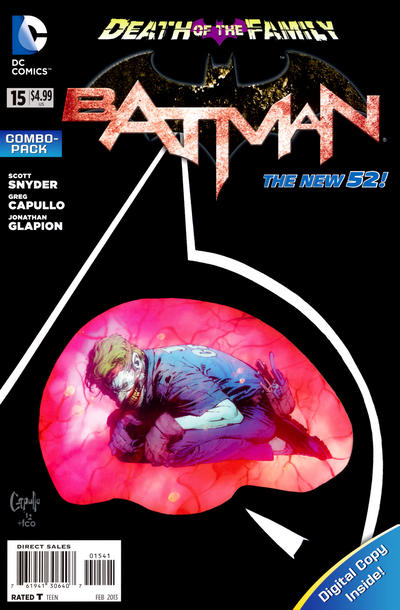 Cover for Batman (DC, 2011 series) #15 [Combo-Pack]