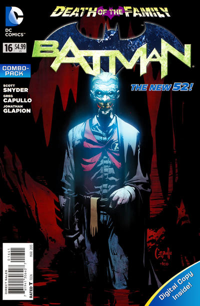 Cover for Batman (DC, 2011 series) #16 [Greg Capullo Black & White Cover]