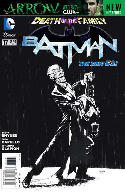 Cover for Batman (DC, 2011 series) #17 [Direct Sales]