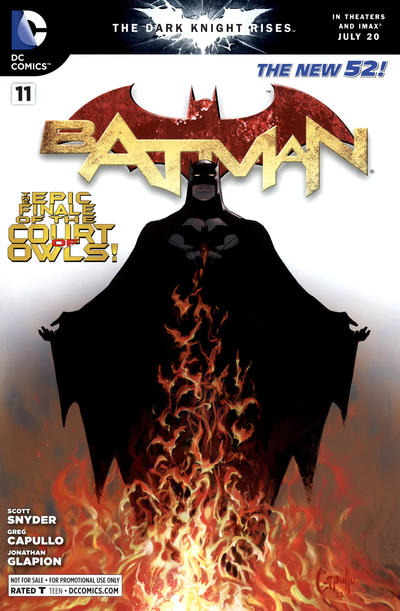 Cover for Batman (DC, 2011 series) #11 [Direct Sales]