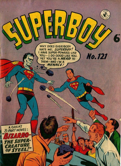 Cover for Superboy (K. G. Murray, 1949 series) #121