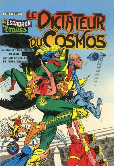 Cover for L'Escadron des Etoiles (Arédit-Artima, 1982 series) #6