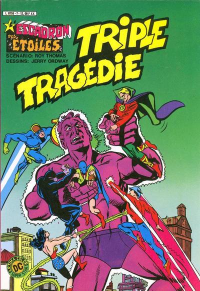 Cover for L'Escadron des Etoiles (Arédit-Artima, 1982 series) #7