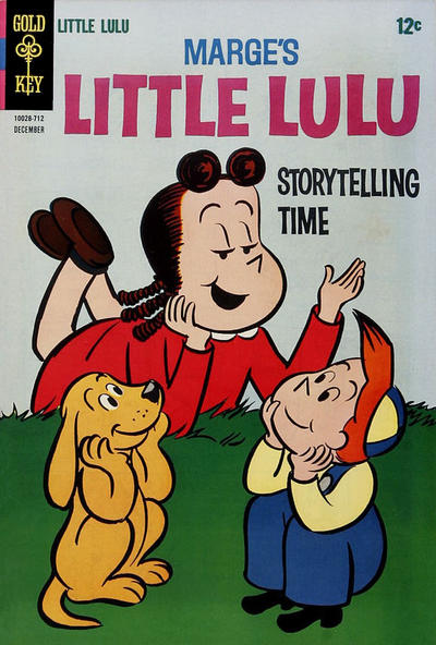 Cover for Marge's Little Lulu (Western, 1962 series) #186