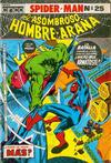 Cover for El Hombre Araña (Editora Cinco, 1974 ? series) #25