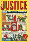 Cover for Justice Comics (Bell Features, 1948 ? series) #13