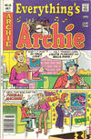 Cover for Everything's Archie (Archie, 1969 series) #58