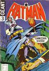 Cover for Batman Geant (Sage - Sagédition, 1972 series) #3