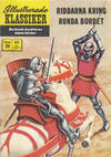 Cover for Illustrerade klassiker (Illustrerade klassiker, 1956 series) #24 [HBN 165] (3:e upplagan) (Mot stjärnorna) - Riddarna kring runda bordet
