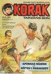 Cover for Korak (Williams Förlags AB, 1966 series) #12/1976