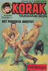 Cover for Korak (Williams Förlags AB, 1966 series) #19/1975