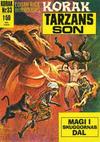 Cover for Korak (Williams Förlags AB, 1966 series) #33
