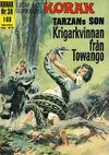 Cover for Korak (Williams Förlags AB, 1966 series) #38