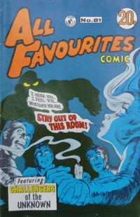Cover Thumbnail for All Favourites Comic (K. G. Murray, 1960 series) #81