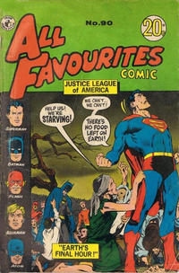 Cover Thumbnail for All Favourites Comic (K. G. Murray, 1960 series) #90