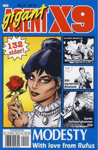Cover Thumbnail for Agent X9 (Hjemmet / Egmont, 1998 series) #2/2013