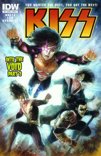 Cover Thumbnail for Kiss (IDW, 2012 series) #8 [Cover B by Xermánico]
