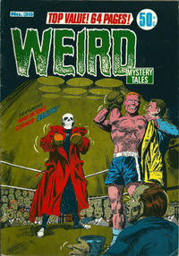 Cover Thumbnail for Weird Mystery Tales (K. G. Murray, 1972 series) #39