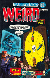 Cover Thumbnail for Weird Mystery Tales (K. G. Murray, 1972 series) #35